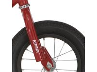Alpina v vork loopfiets dark red